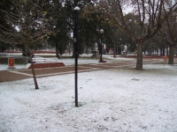 Nieve en San Jorge